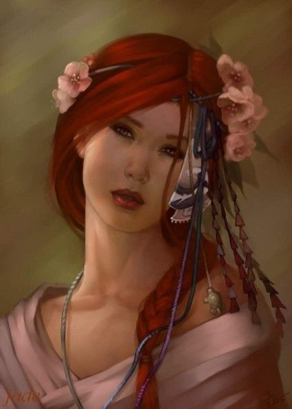 chevelure rousse