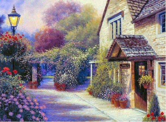 Ville village maison page 48 for Jardin fleuri maison