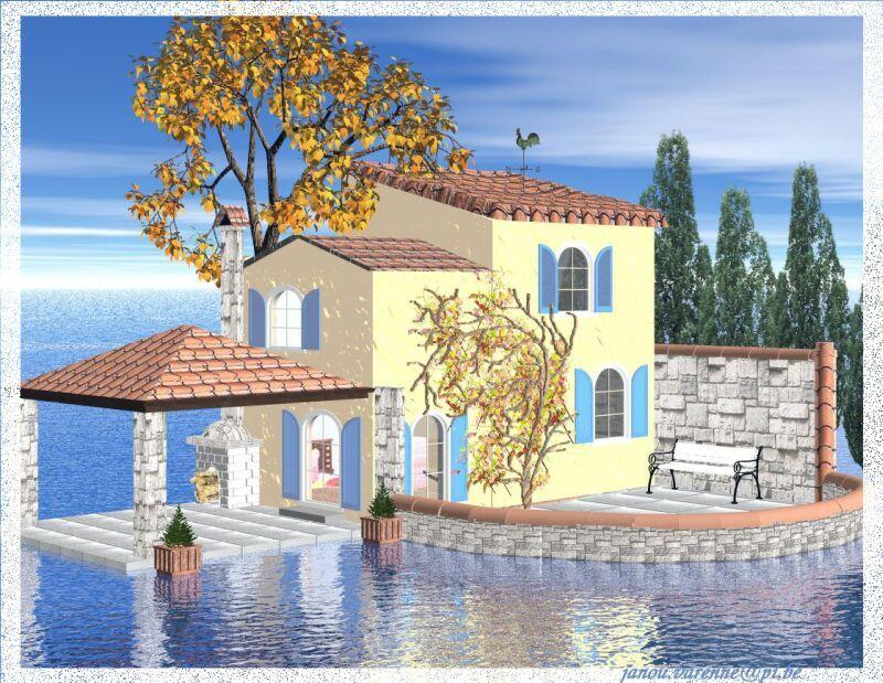 Maison sur l 39 eau - Decoratie mansard kamer volwassene ...